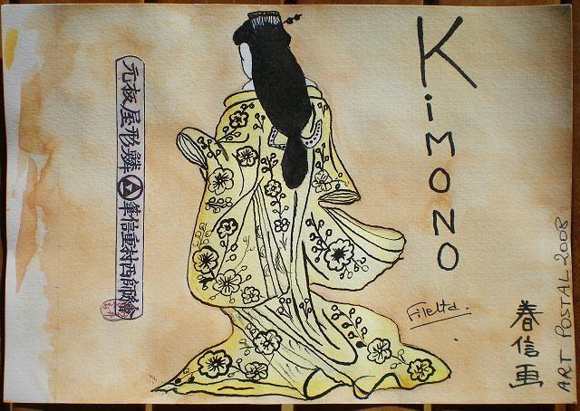 90~K de Kimono pour ABCDaire pour Ecrilire