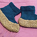 Une seconde paire de chaussettes !
