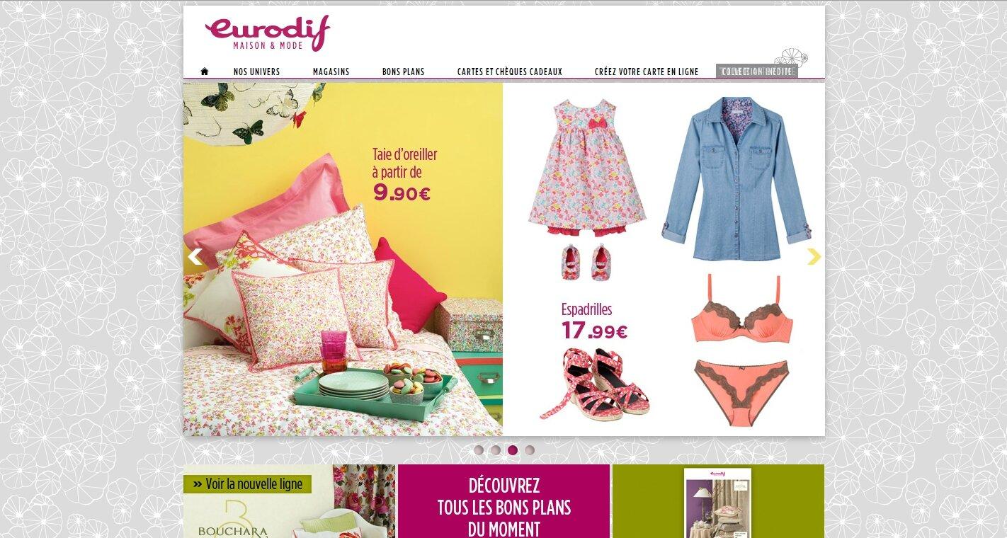 Collection printemps Eurodif