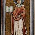 Ste Marie Madeleine, enluminure, manuscrit KB76F5 - Bibl. Royale