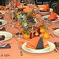 Une décoration de table