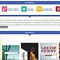 Des livres numériques à l'aéroport de montréal