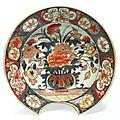 Plat à barbe. chine. epoque kangxi (1662-1722).
