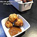 Croquettes de pommes de terre et tapioca