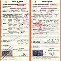 Curiosités sur les carnets de passages en douanes