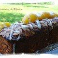 Cake tendresse abricots - fleur d'oranger
