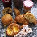 Croissant et pain au chocolat (et bugne)