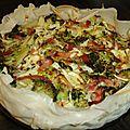 Quiche aux brocolis (allégée)