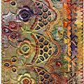 Autumn colors papier,broderie anglaise,galons,perles