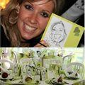 Cadeaux pour vos invités - leur caricature - portrait