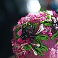 bouchon en fleurs