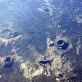 petits crateres vu du ciel