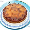 Gâteau aux pommes au sirop d'érable