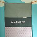 Couverture personnalisée de Mathilde