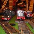 la 2080, le locotracteur et la RhB Ge4/4
