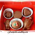 Les chocolats maison de Fraisiperles