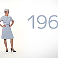 Video et Photos : Air France fête les 70 ans de ses premieres hotesses a bord