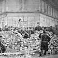 9 Avril 1871 - les combats fratricides continuent