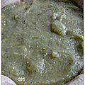 Tarte au caviar d