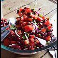 monomanie saine - salade mexicaine aux haricots rouges