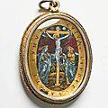 Devotional pendant, northern italy, circa 1600