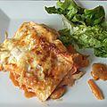 Lasagnes aux légumes d'été et au fromage de chèvre