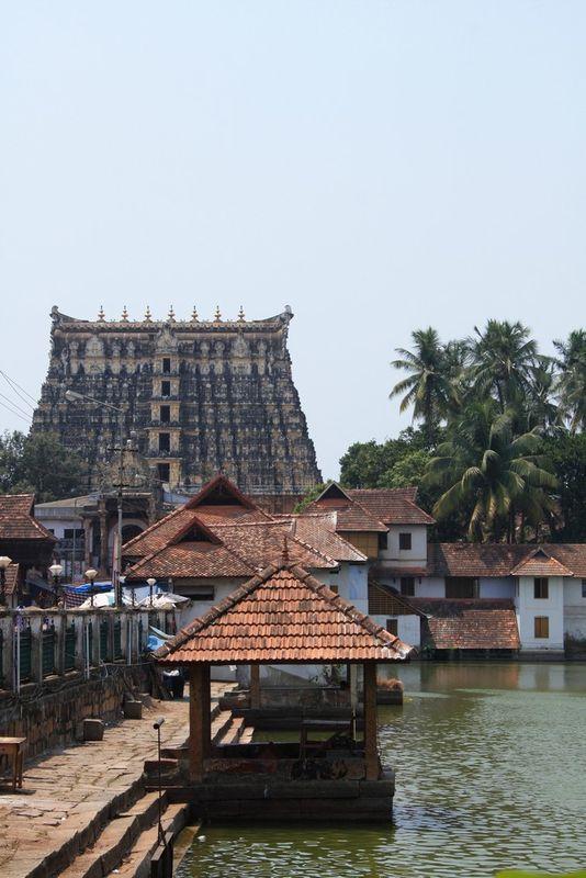 Temple à Trivandrum