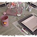 table rose poudrée 001