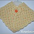 Roselaine 209 Adriafil poncho