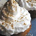cupcakes au miel meringués