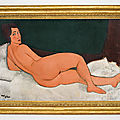 Modigliani masterpiece to lead sotheby's may auctions with estimate of $150 million
