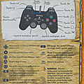 Guide controles manette star wars racer revenge