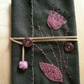 pochette fleur
