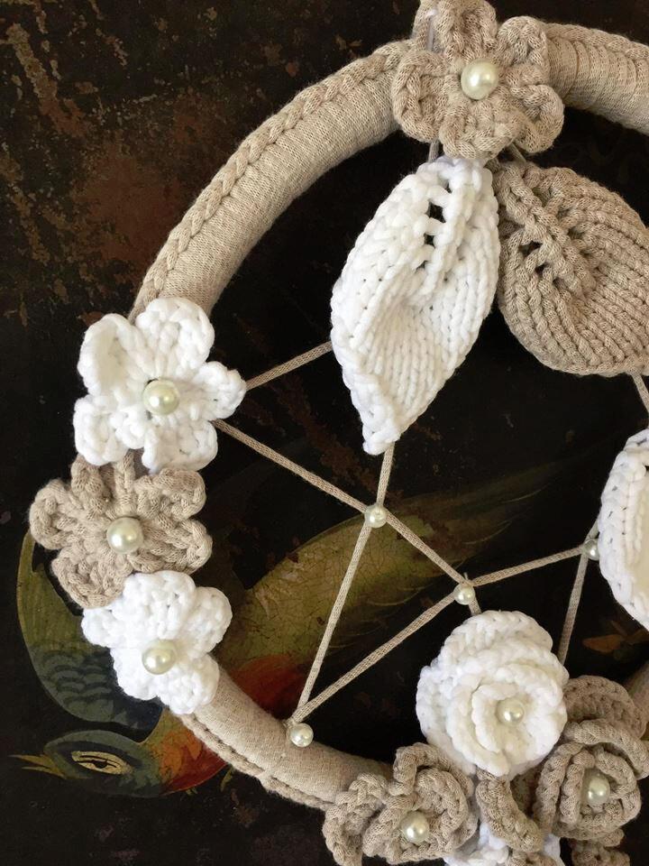 * Dream Catcher ou Attrape-rêves * + diagramme crochet ..