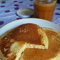 Pan cakes et caramel au beurre salé