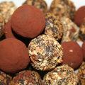 Truffes au chocolat....hum!