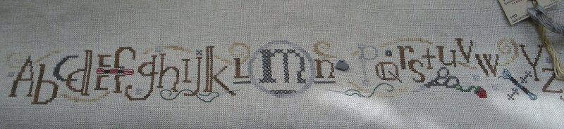 bent creek-stitching row-