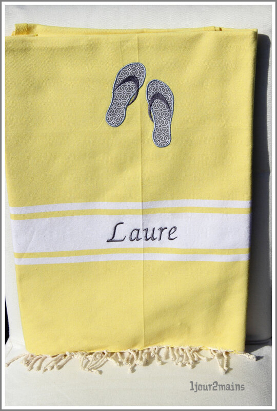 fouta tong Laure