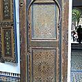 Palais de la Bahia / Marrakech, Maroc * Évelyne Perrin