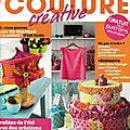Passion Couture Créative n°5 (juillet-août-septembre 2014) - Couverture