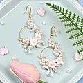 Tutoriel artisanal de <b>boucles</b> <b>d</b>'<b>oreilles</b> en perles PandaHall