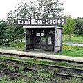 Kutnà Hora - Sedlec (République Tchèque) abri voyageurs