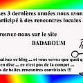 Visualisez le blog <b>BADABOUM</b>