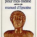 _pensées pour moi-même_ de marc-aurèle (iième siècle après j.-c.)