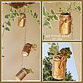 Diy : faire un jardin suspendu avec des canettes