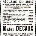 FOURMIES-Meubles Decaux