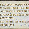 Il y a 70 ans, CADENET retrouvait son célèbre TAMBOUR D'ARCOLE