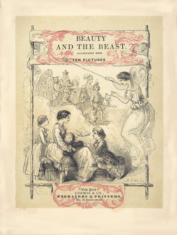 the-beauty-and-the-beast-illustration