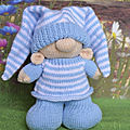 <b>Bed</b> Time Gnome - Knitting by Post
