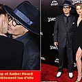 Johnny Depp offre un diamant à <b>Amber</b> <b>Heard</b> ils vont se marier!